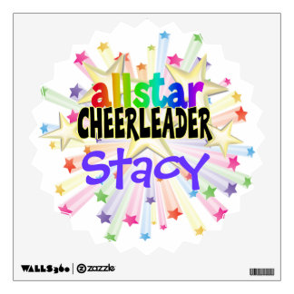 Allstar Cheerleader Wall Decal