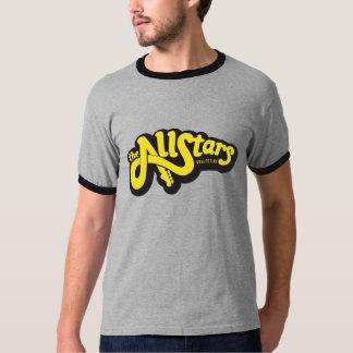 AllStars Collective Yellow Logo on Grey T-Shirt