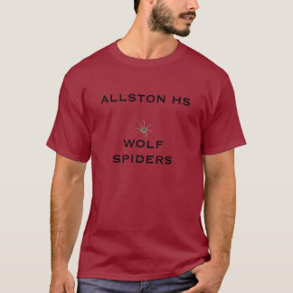ALLSTON HS WOLF SPIDERS - Customized T-Shirt