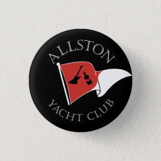 Allston Yacht Club 1 Inch Round Button
