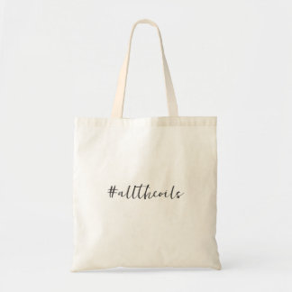 #alltheoils tote