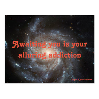 Alluring Addiction Postcard
