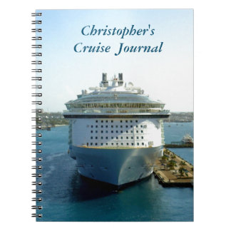 Alluring Bow Custom Spiral Notebook
