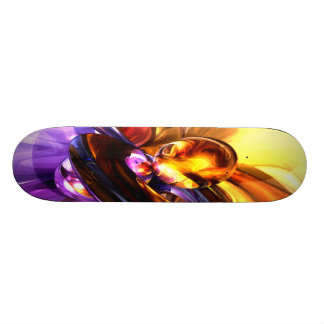 Alluring Grace Pastel Abstract Skate Board Decks