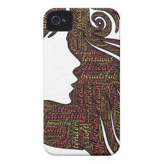 Alluring lady iPhone 4 covers