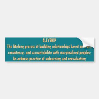Allyship Bumper Sticker