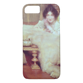 Alma-Tadema | A Listener: The Bear Rug, 1899 iPhone 7 Case