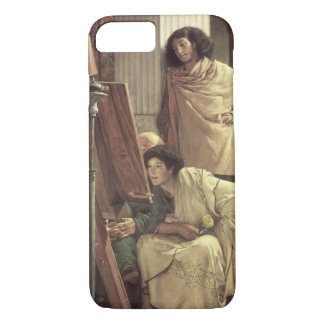 Alma-Tadema | A Visit to the Studio, 1873 iPhone 7 Case
