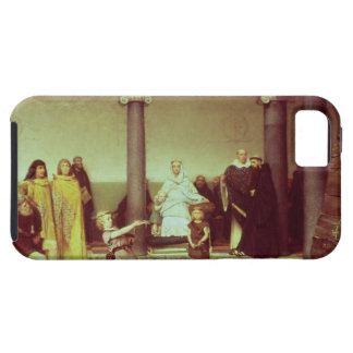 Alma-Tadema | Education of Children of Clothilde iPhone 5 Covers