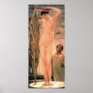 Alma-Tadema - The model of a sculptor Poster