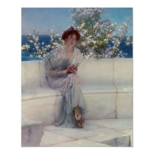 Alma-Tadema | The Year is at the Spring Poster