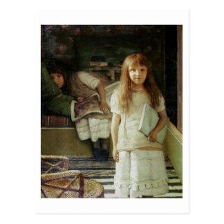 Alma-Tadema | This is our Corner, 1873 Postcard