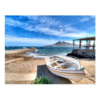 Almería, La Isleta Del Moro | Mar Mediterráneo Postcard