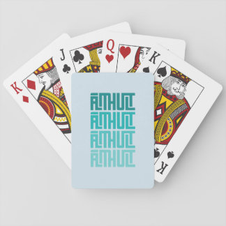 Älmhult x4 Blue Playing Cards