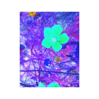 #AlmightyPsyche Neon Paradise Canvas Print