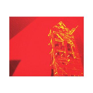 #AlmightyPsyche RedBone Canvas Print