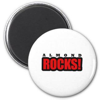 Almond, Alabama City Design 2 Inch Round Magnet