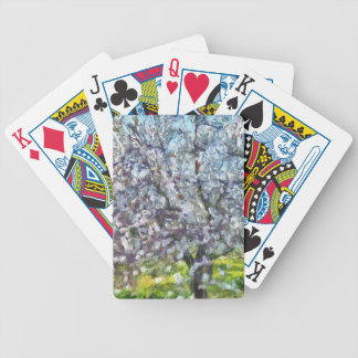 Almond Blossom Bicycle Playing Cards