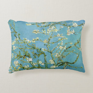 Almond Blossom Branches (F671) Van Gogh Fine Art Accent Pillow