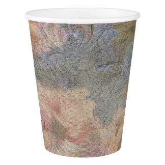 Almond Blossom Tapestry Paper Cups