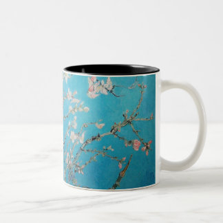 Almond Blossom Two-Tone Coffee Mug