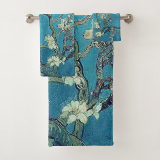 Almond Blossoms Bath Towel Set