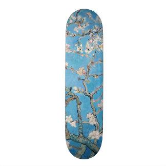 Almond Blossoms Blue Vincent van Gogh Art Painting Custom Skateboard