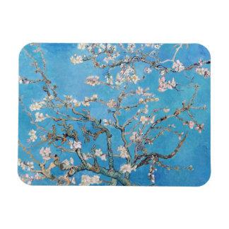 Almond Blossoms Blue Vincent van Gogh Art Painting Rectangular Photo Magnet