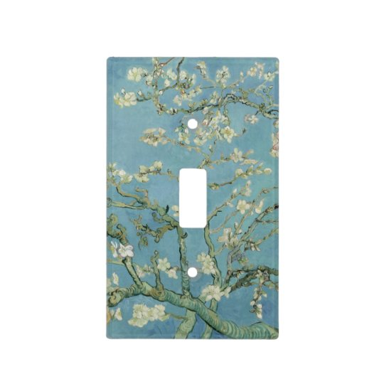 Almond Blossoms by Vincent Van Gogh Light Switch Cover