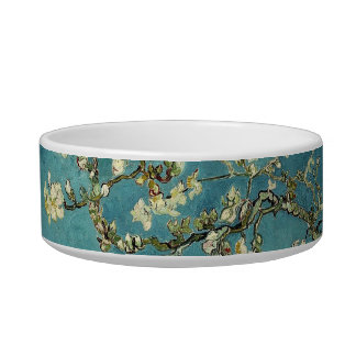 Almond Blossoms Pet Bowl
