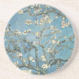 Almond branches in bloom, 1890, Vincent van Gogh Beverage Coaster