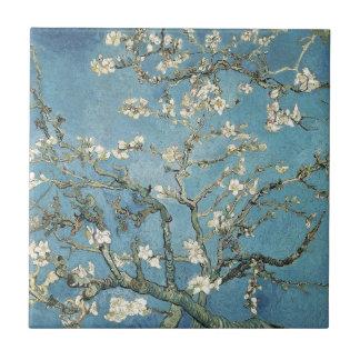 Almond branches in bloom, 1890, Vincent van Gogh Ceramic Tile