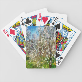 Almond Orchard Blossom Bicycle Playing Cards