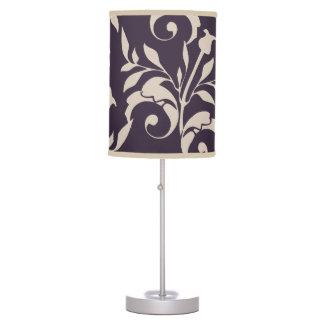 Almond Rose Swirl Table Lamp