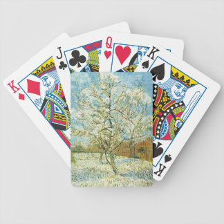 Almond tree bicycle playing cards