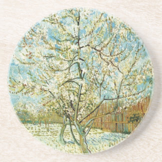 Almond tree coaster