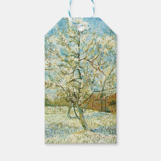 Almond tree gift tags
