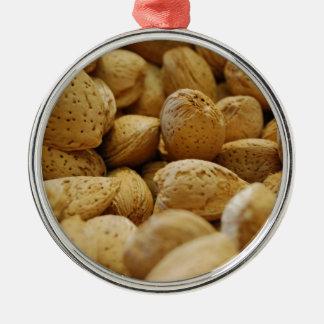 Almonds Metal Ornament