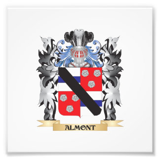 Almont Coat of Arms - Family Crest Photographic Print