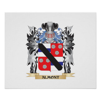 Almont Coat of Arms - Family Crest Poster