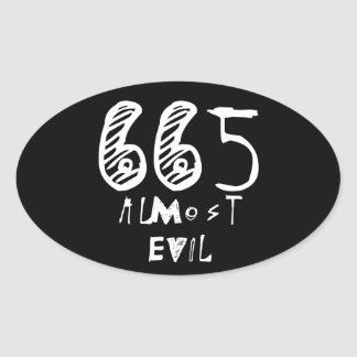 Almost Evil Stickers