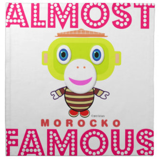 Almost Famous-Cute Monkey-Morocko Napkin