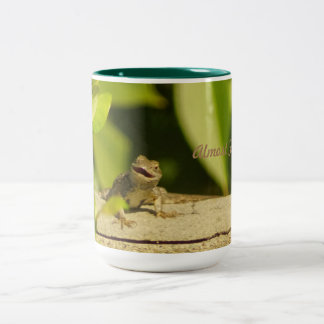 Almost Friday Lizard Mug