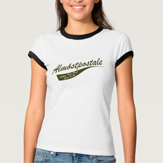 Almostpostale - Almost Postal Ladies Ringer T-Shirt