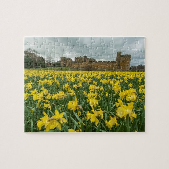 Alnwick Castle , Northumberland, UK Jigsaw Puzzle