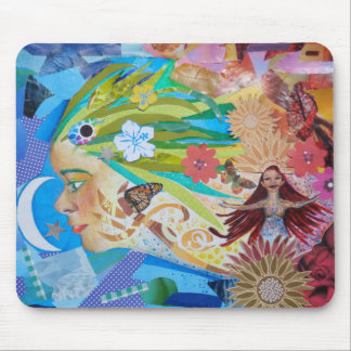 Aloe (Collage) Mouse Pad