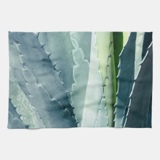 Aloe - Macro Fine Art Photograph Kitchen Towel