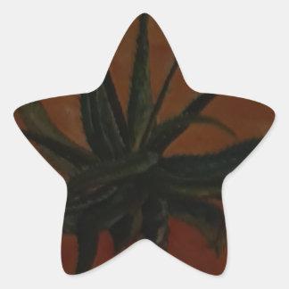 Aloe Star Sticker