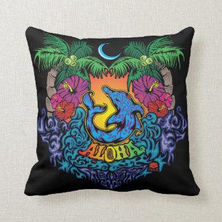 "Aloha 16"" X 16"" Cotton Pillow"
