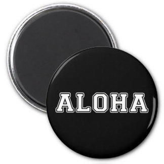 Aloha 2 Inch Round Magnet